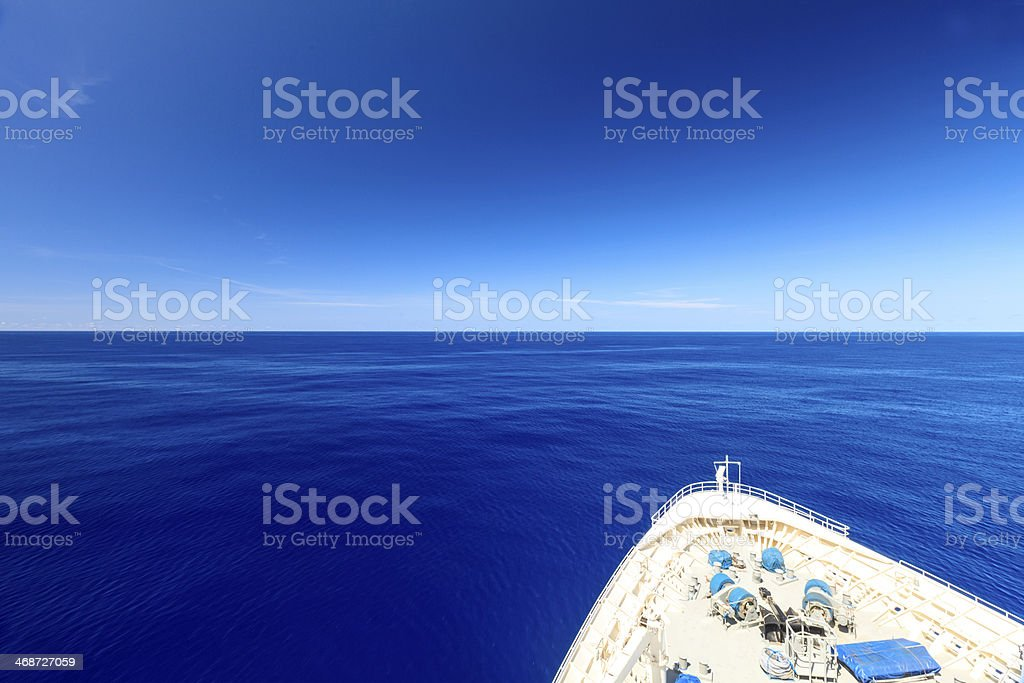 On A Blue Day stock photo