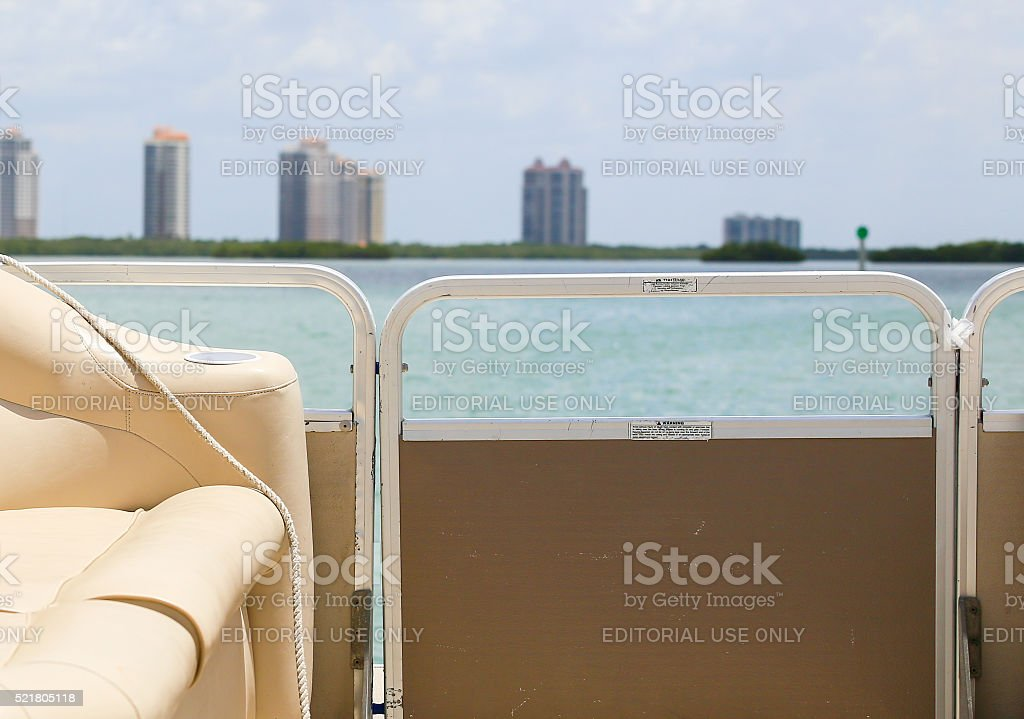 On a Boat Tour stock photo