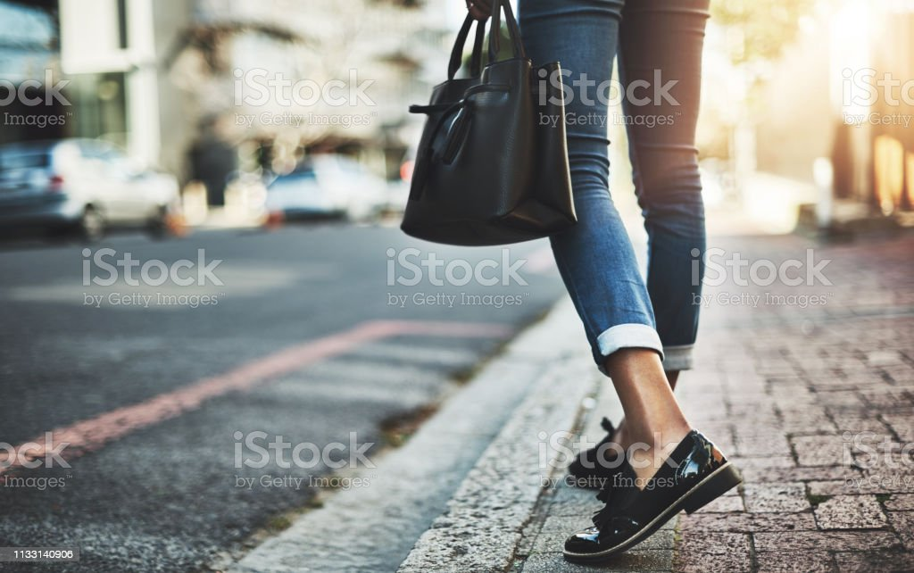 On a business mission stock photo