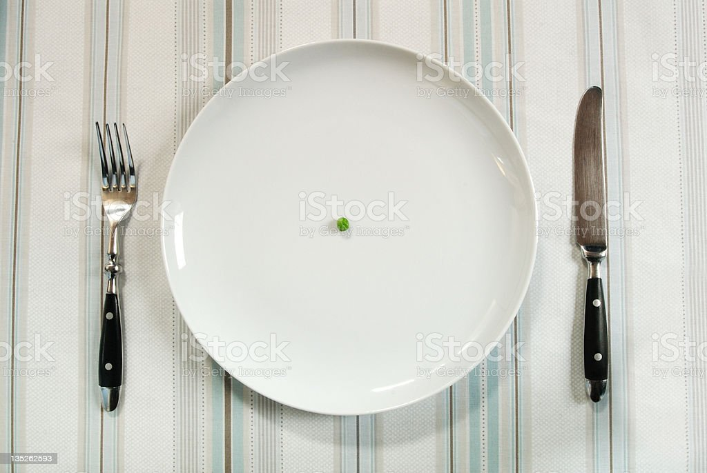 On a diet? stock photo