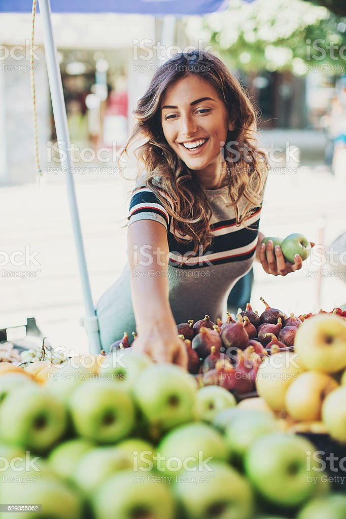 On a diet stock photo