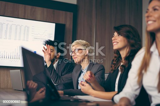 922512798 istock photo On a meeting 930090692