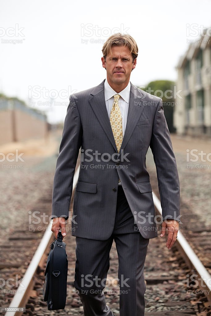 On a Road stock photo