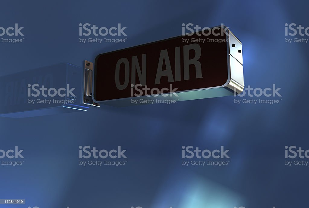 On Air off royalty-free stock photo