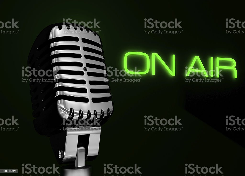 On Air royalty-free 스톡 사진