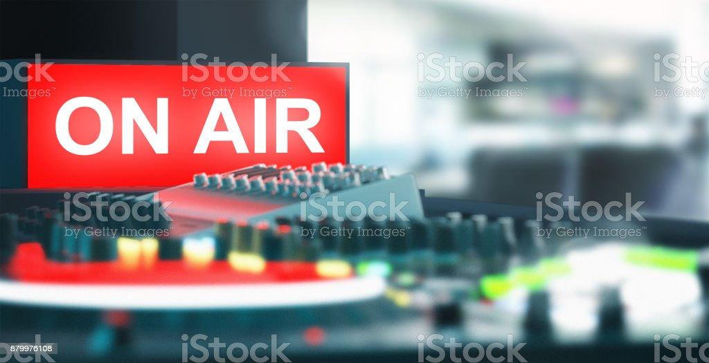 On air, radio, tv, music