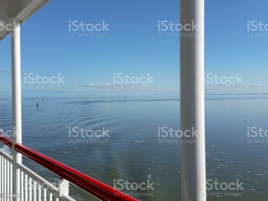 An Bord der Fähre – Foto