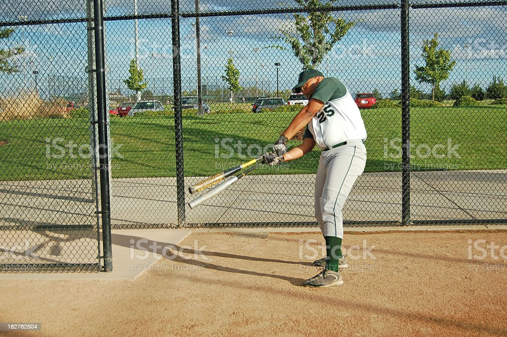 On Deck Batter royalty-free stock photo