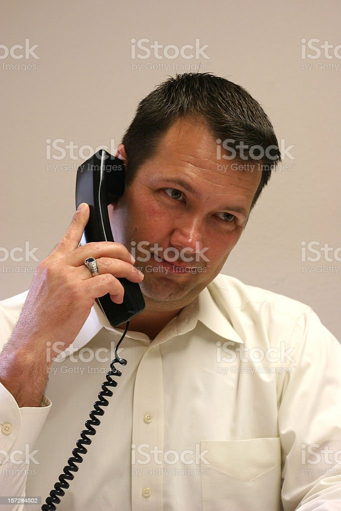 On Hold Series 2 royalty-free stock photo