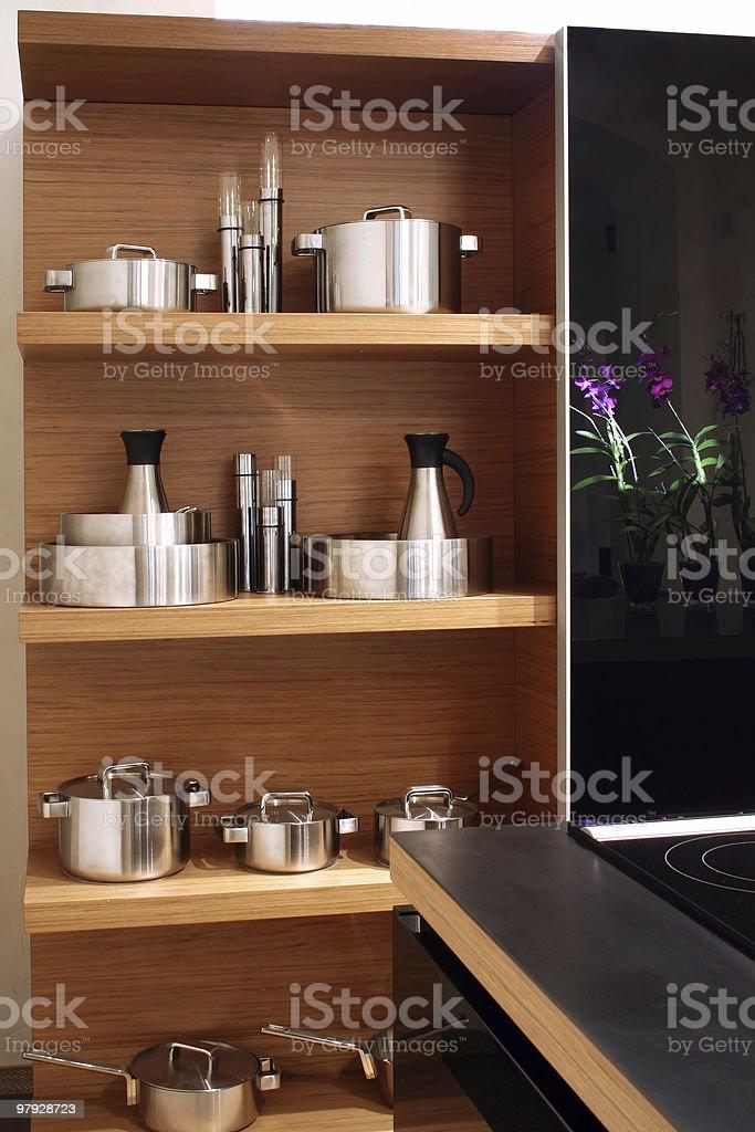 On kitchen royalty-free stock photo