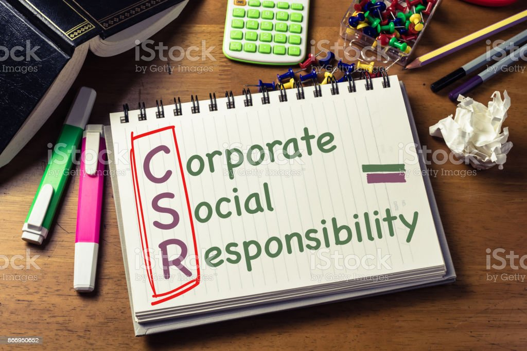 CSR auf Notebook – Foto