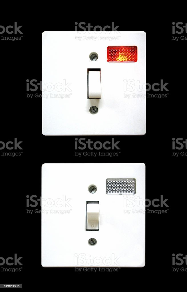 On / Off royalty-free stock photo