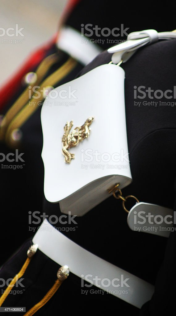'On Parade' stock photo