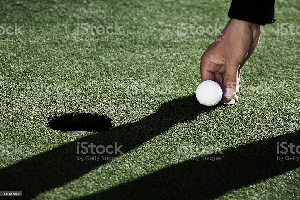 On Putting Green