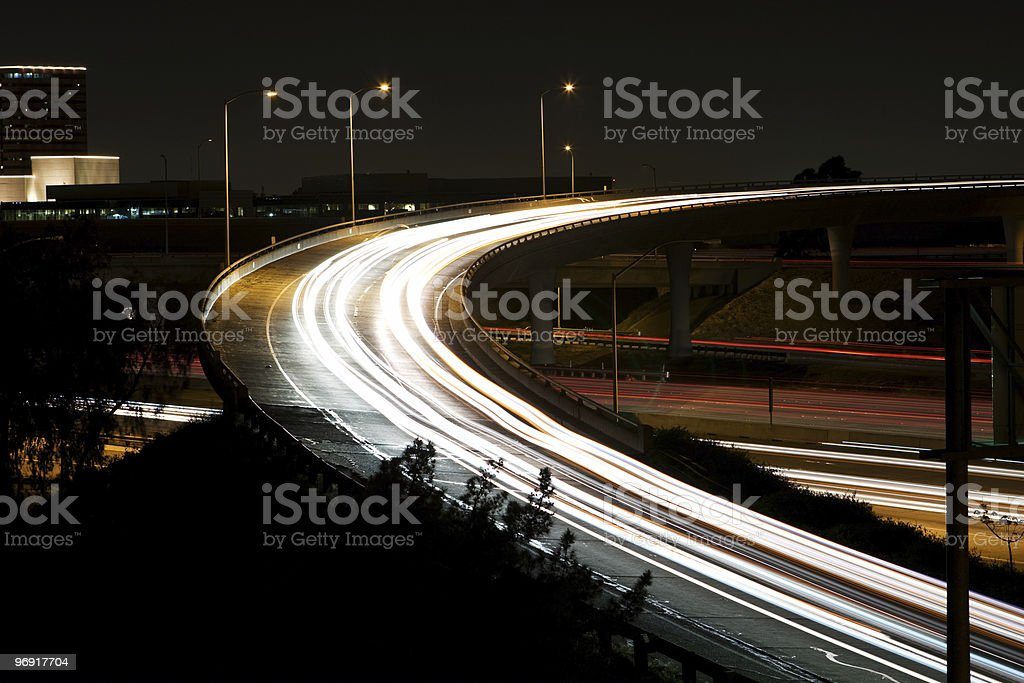 On Ramp royalty-free stock photo
