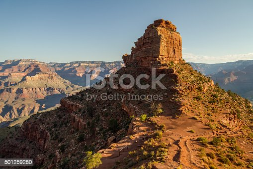 istock On south kaibab trail in the morning, Grand Canyon, USA 501259280
