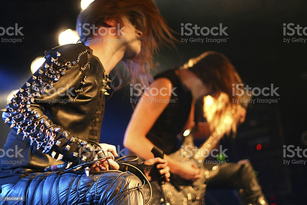 On stage royalty-free stock photo