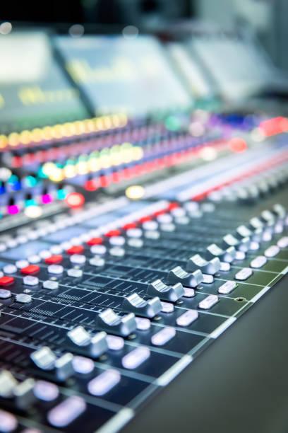 Auf der Bühne Soundmixer – Foto