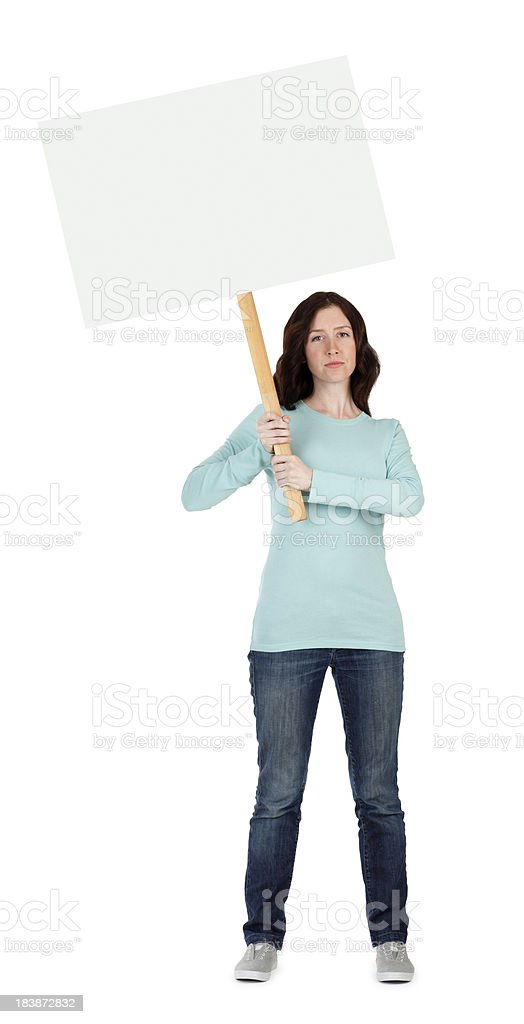 On Strike royalty-free stock photo