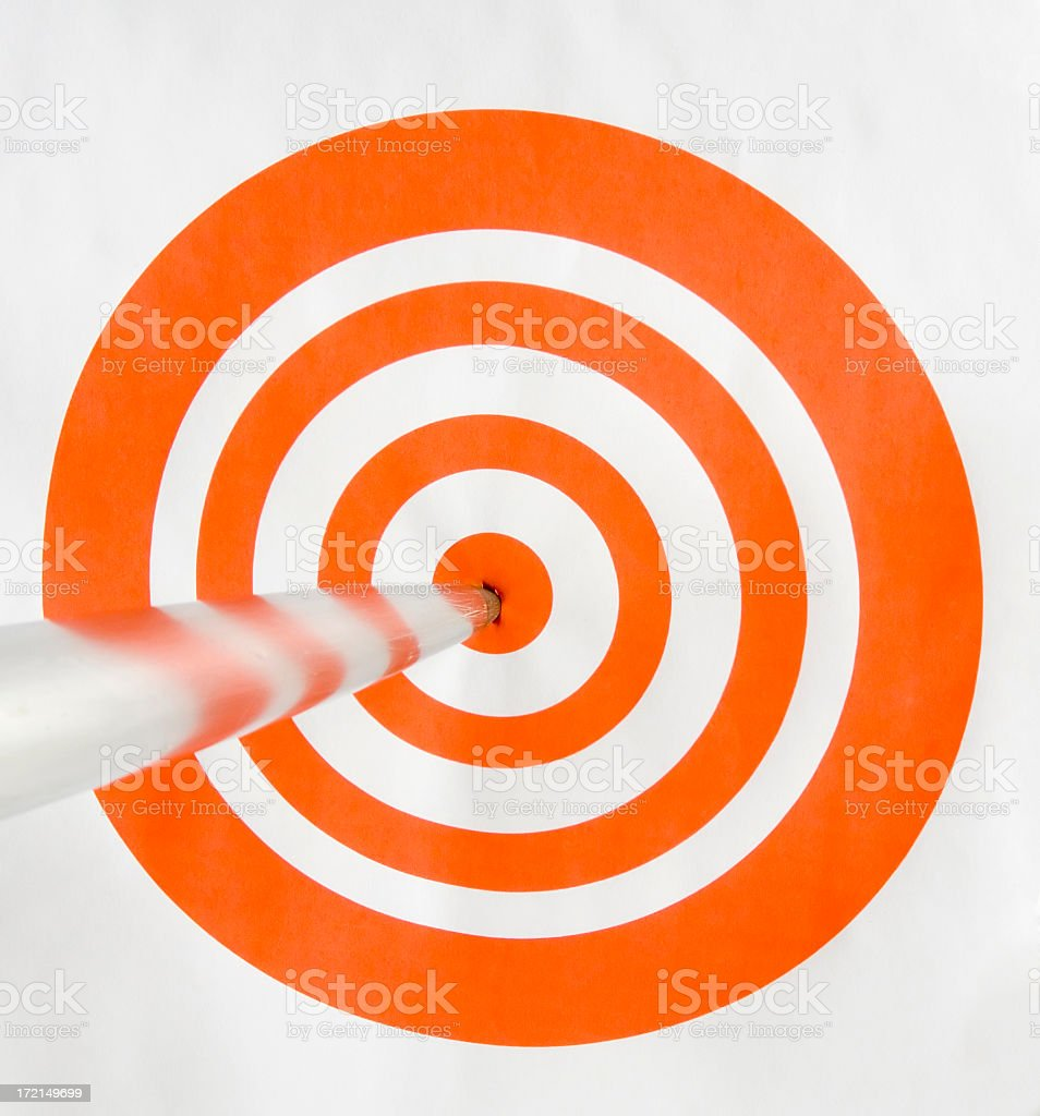 On Target 2 royalty-free stock photo