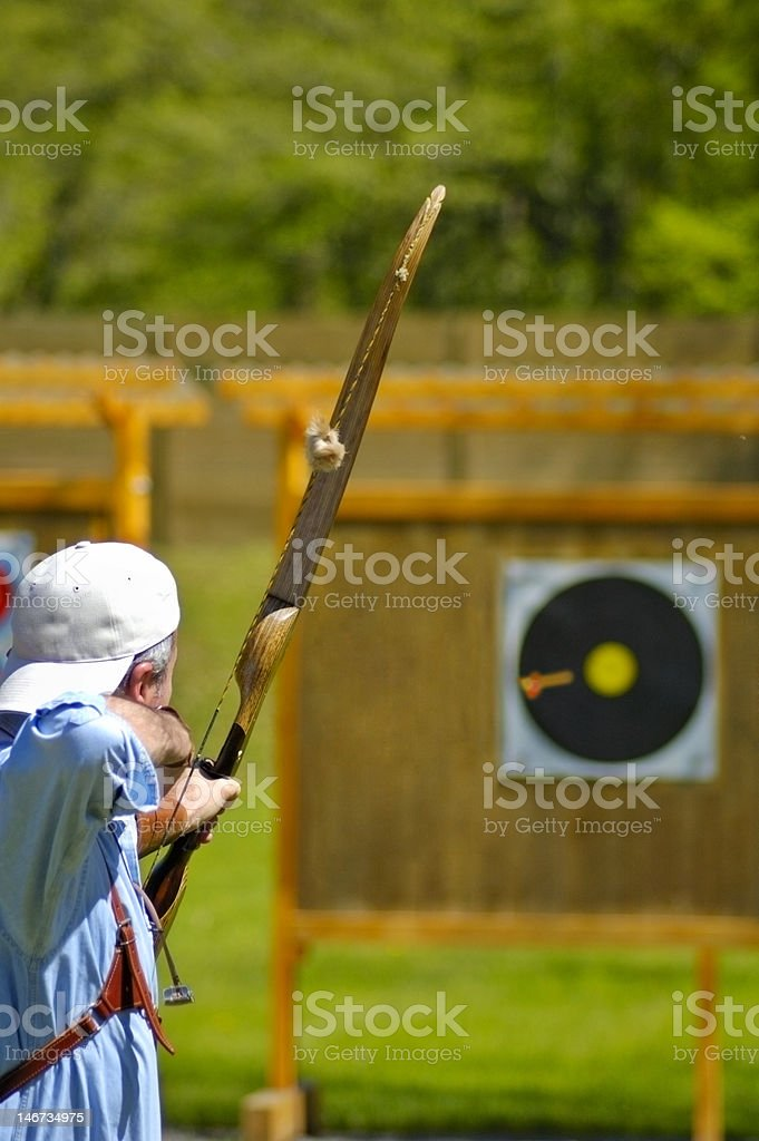 On target! royalty-free stock photo