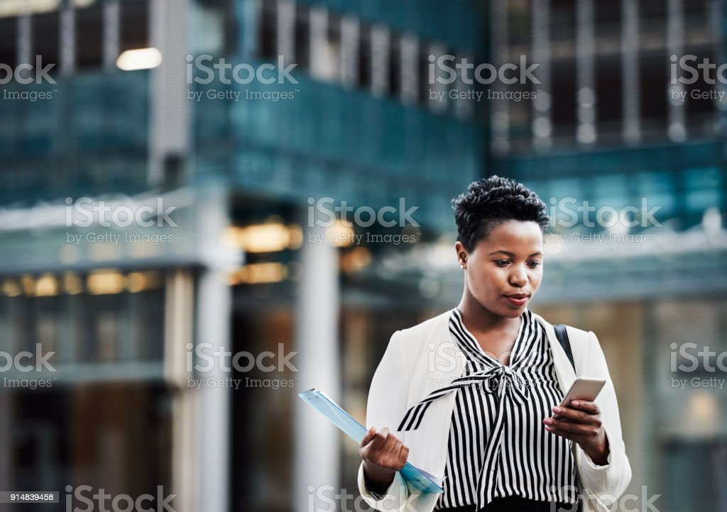 On that go get it grind stock photo