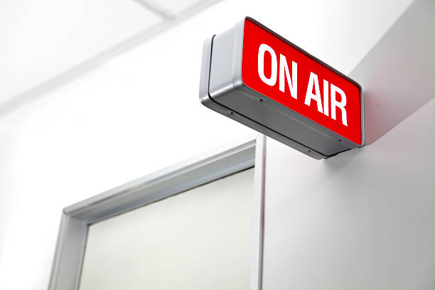 on the air - on air stock photos and pictures