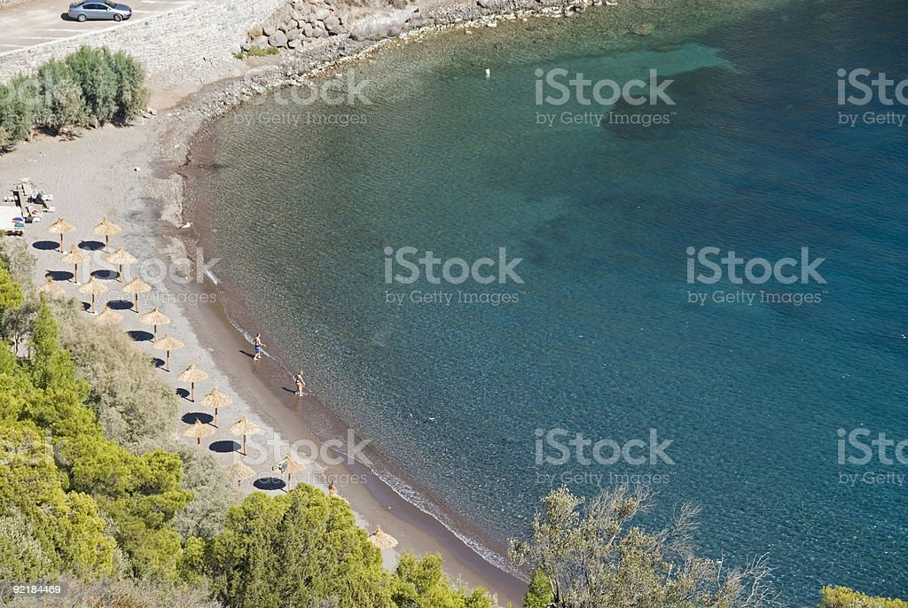 On the beach royalty-free stock photo