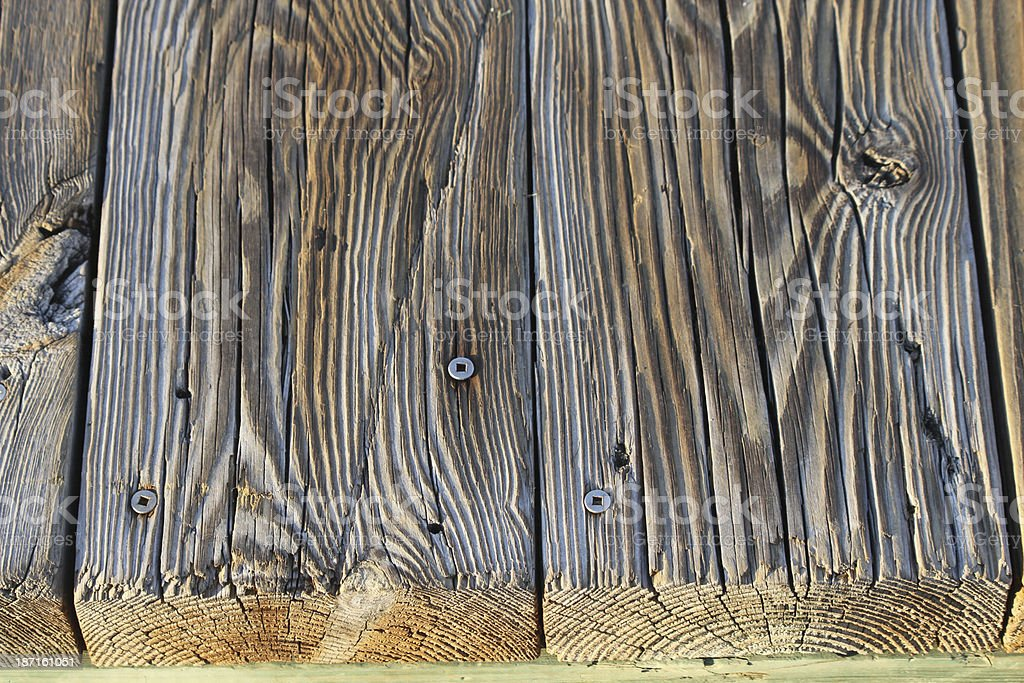 On the Boardwalk Planks royalty-free stock photo