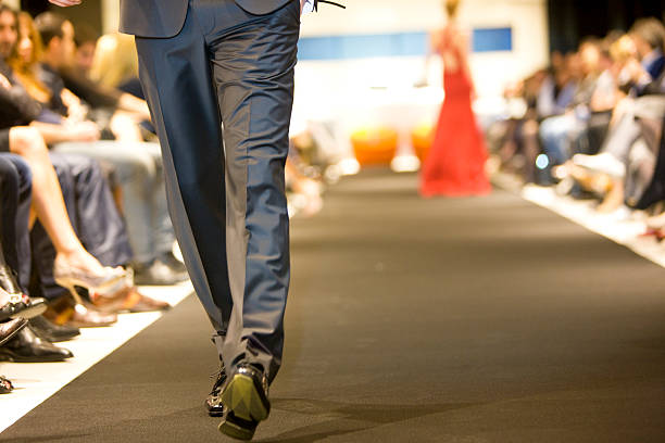 On the Catwalk  ramp stock pictures, royalty-free photos & images
