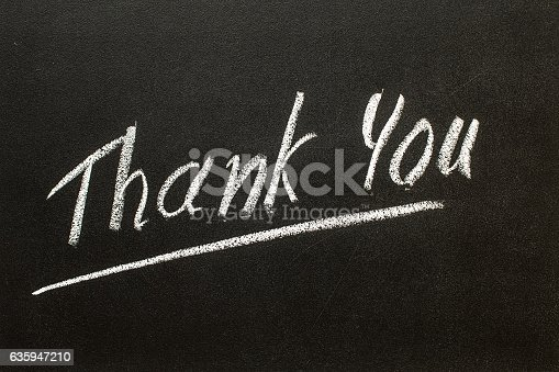 istock THANK YOU on the chalk board 635947210