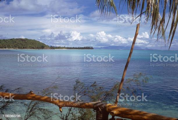 On the coast of the popular holiday island Bali