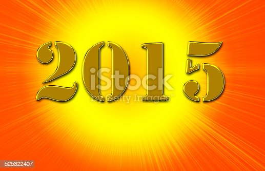 istock 2015 on the colorful background 525322407