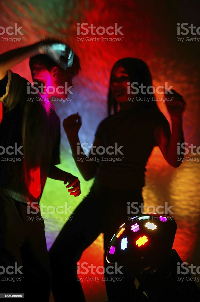 on the dance floor royalty-free stock photo