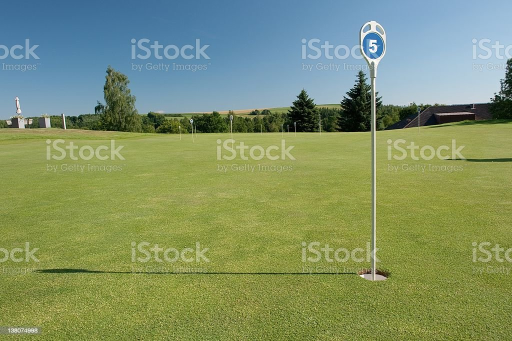 On the golf course, Nikon D700 24-70 2.8, Pol-Filter, Converted from...