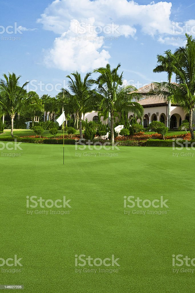 On The Green royalty-free stock photo