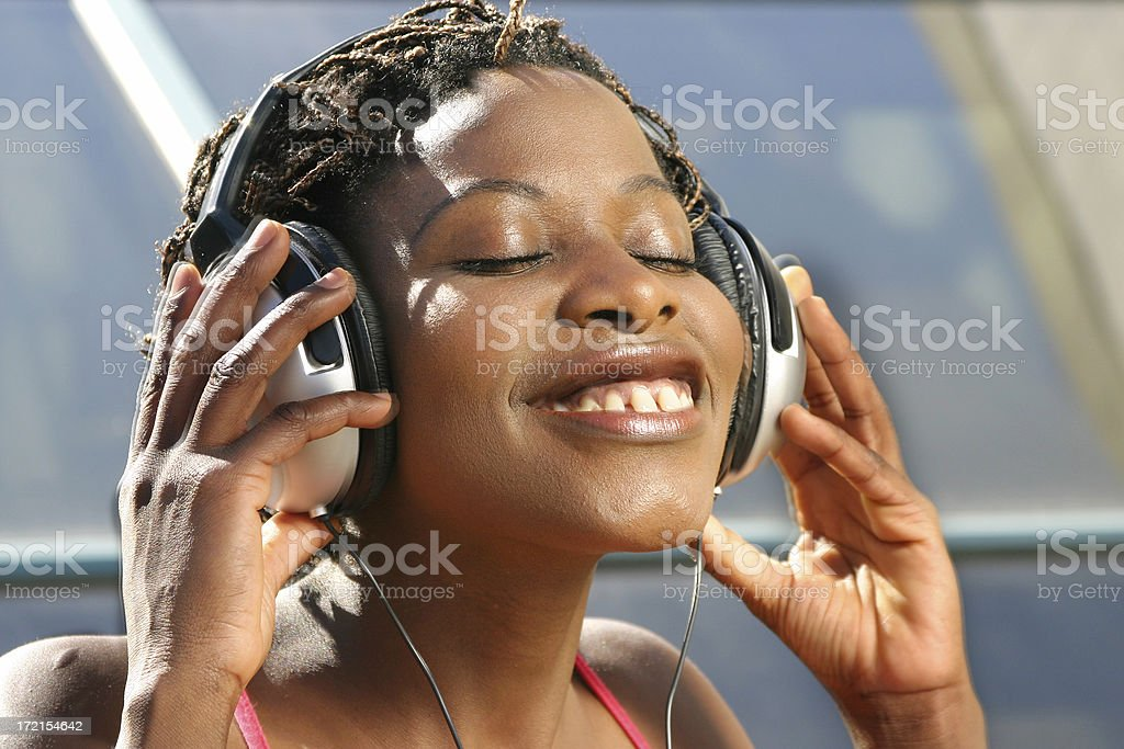 On the groove... royalty-free stock photo