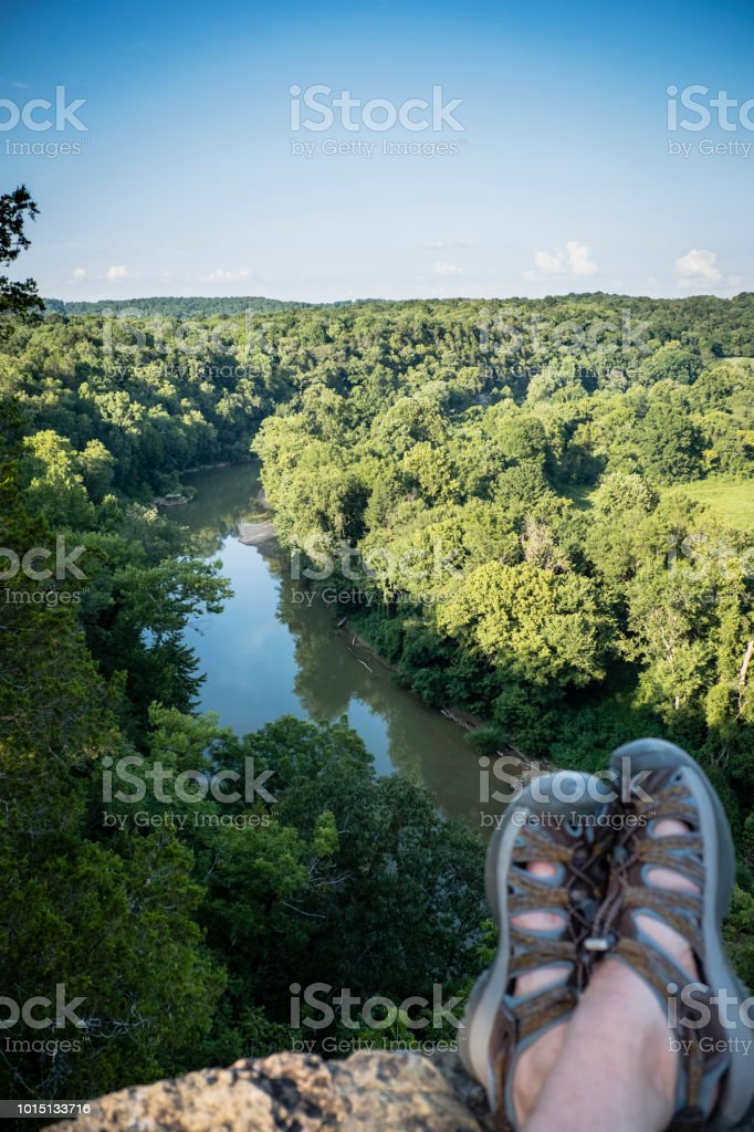 On the Harpeth stock photo