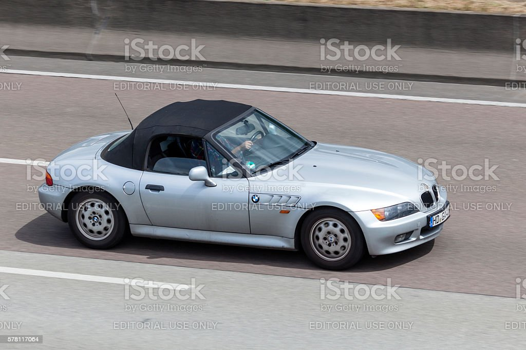 BMW Z3  on the highway – Foto