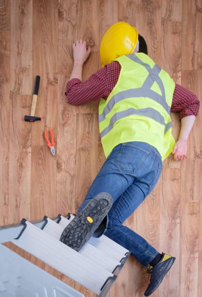 On the job injury stock photo