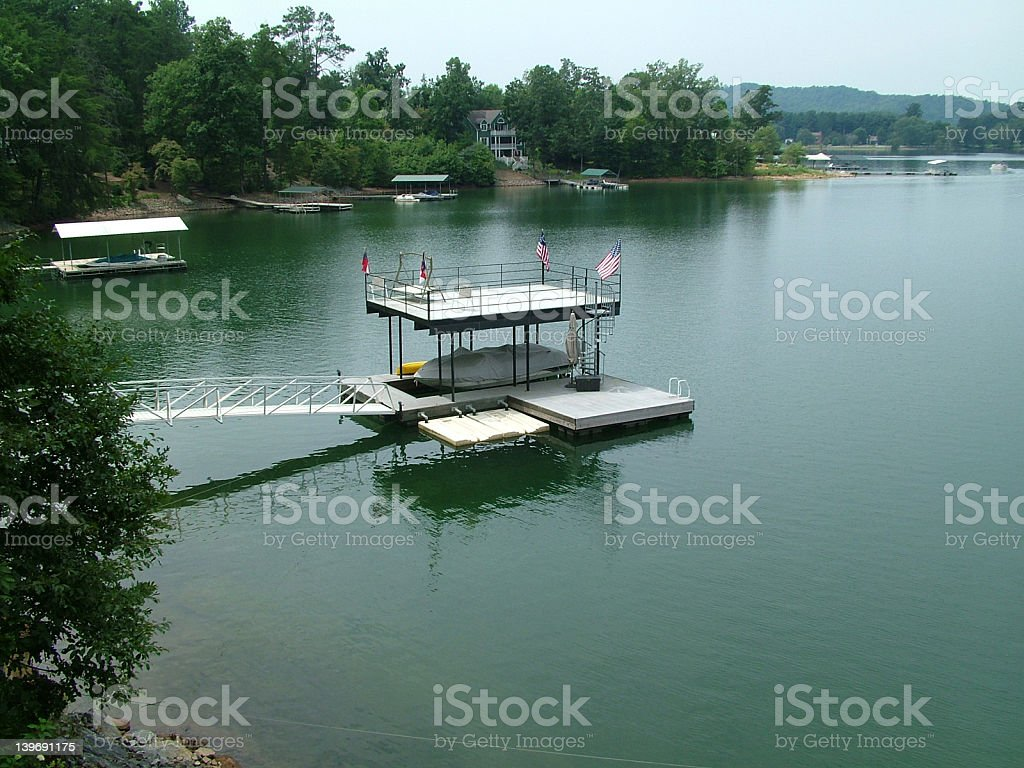 On the lake royalty-free stock photo