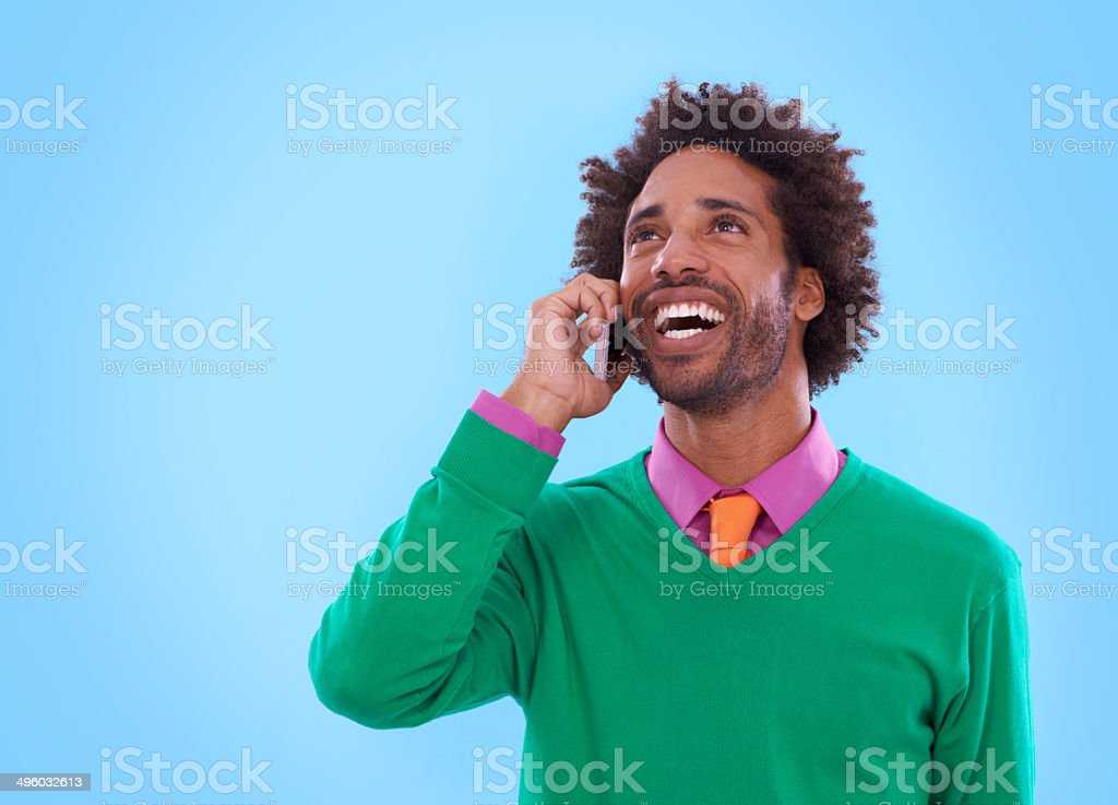On the line with style! royalty-free stock photo