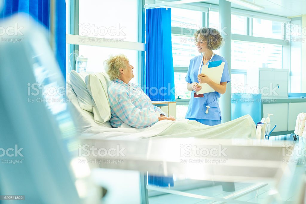 on the mend stock photo