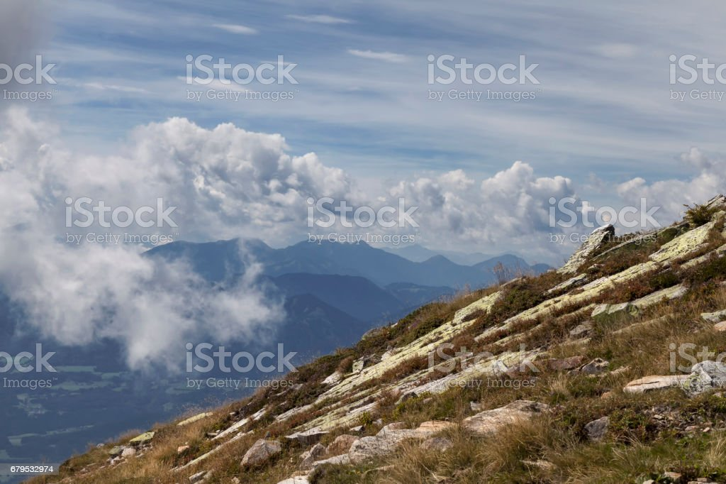 Am Mirnock stock photo