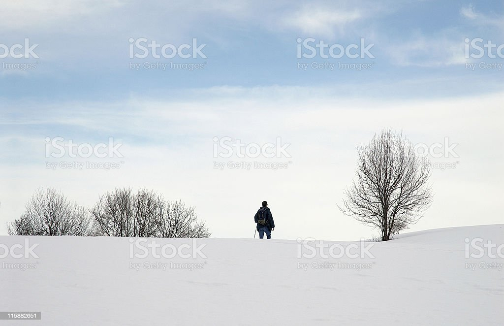 On the other side of the world royalty-free stock photo