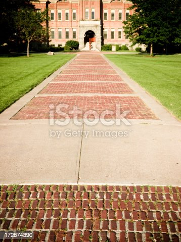 istock On the path to College 172874390