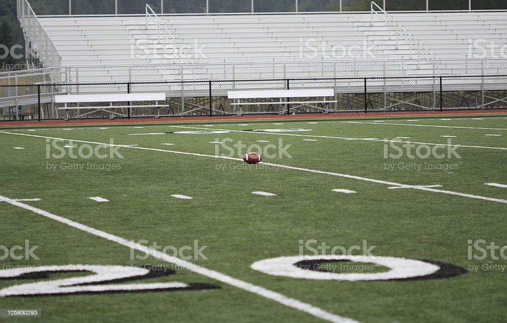 On the Playing Field royalty-free stock photo