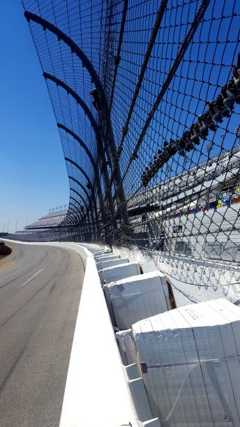 on the race track (photo1) - daytona 500 stock photos and pictures