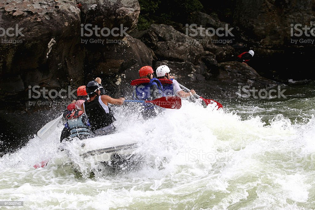 On The River royalty-free stock photo