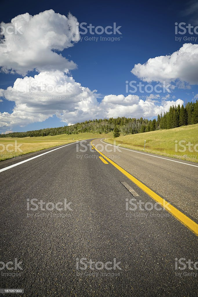 On The Road in Arizona royalty-free stock photo